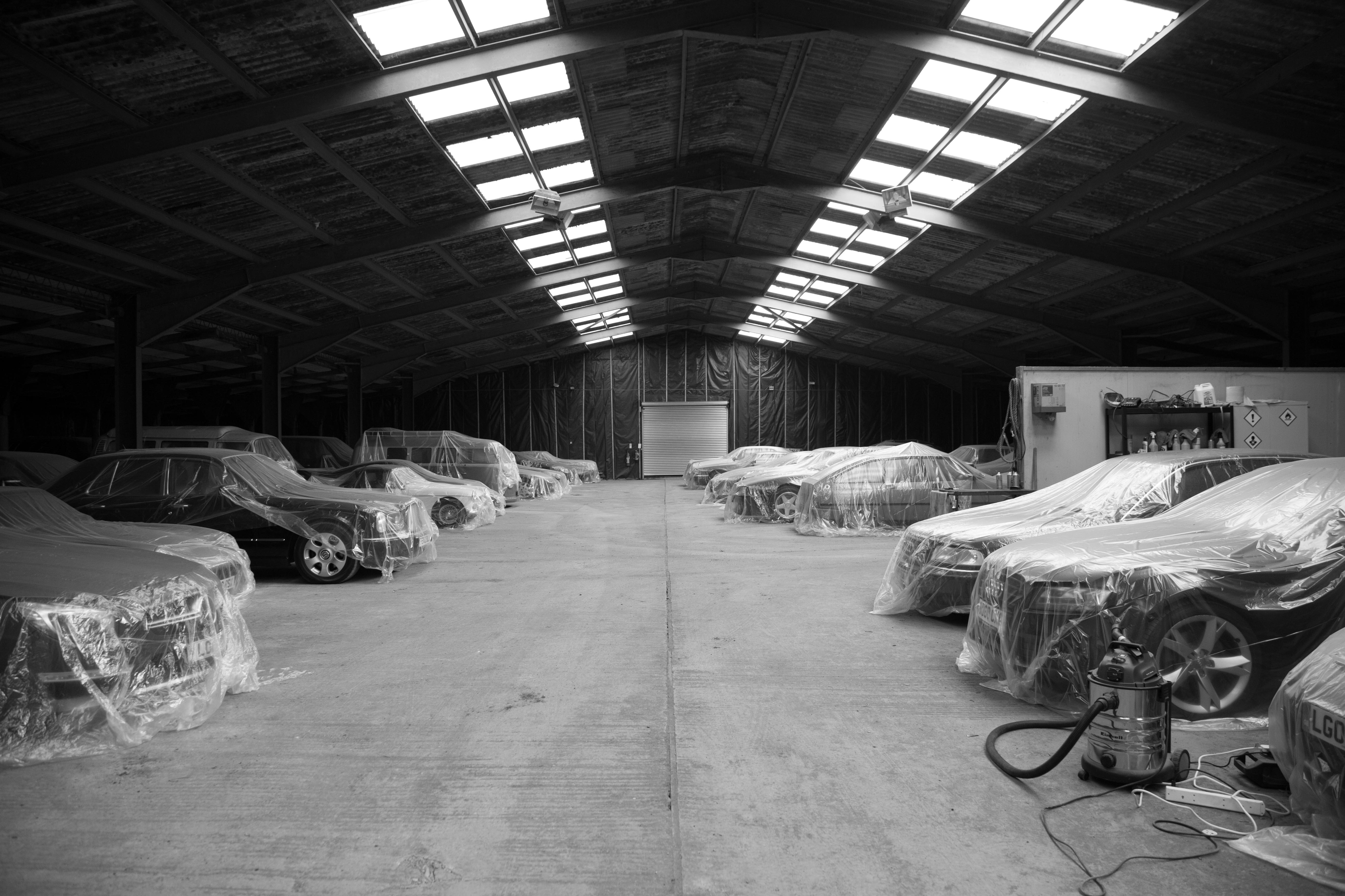 So how much is car storage?