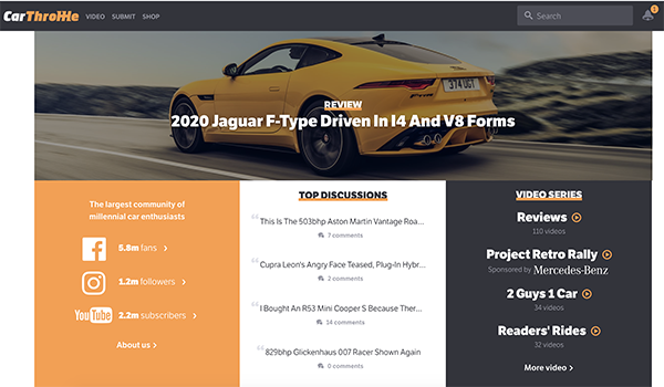 Car Throttle Car Blog