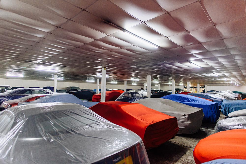 Storacar Dehumidified Car Storage Facility